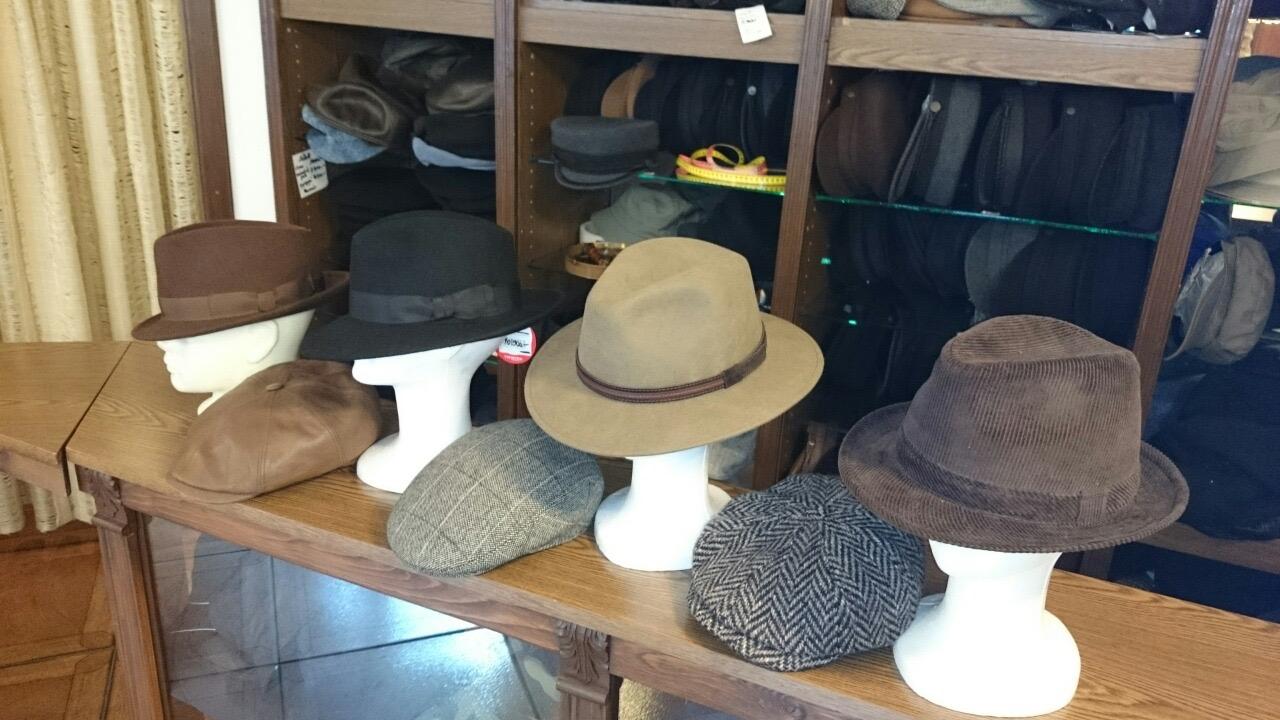 Férfi kalapok és sapkák